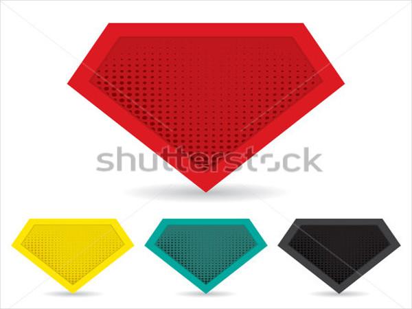 set-of-superhero-logo-template