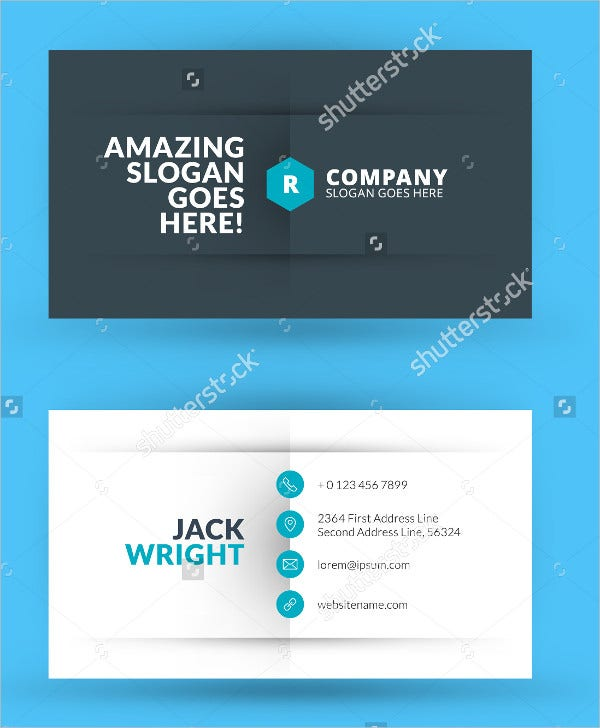 23 personal business cards free psd vector ai eps format modern creative business card cheaphphosting Gallery