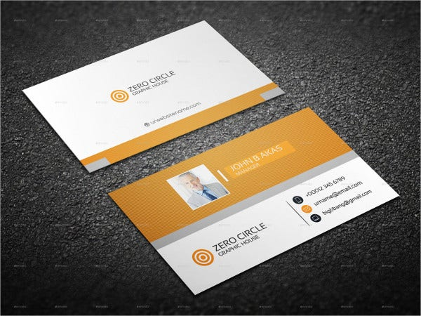 22+ Personal Business Cards - Free PSD, Vector AI, EPS Format ...