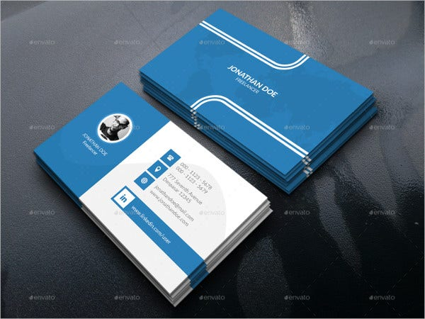 28 Best Personal Business Card Templates Word AI Pages Free