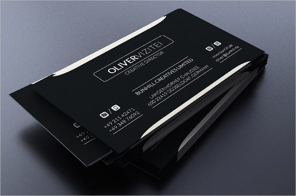 Personla Elegant Business Card