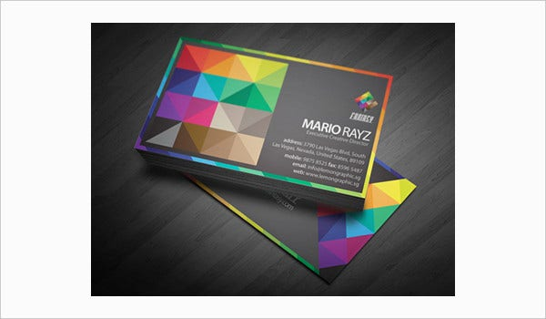 Fantasy Colors Business Card