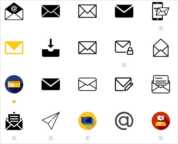 Free Vector Email Icons