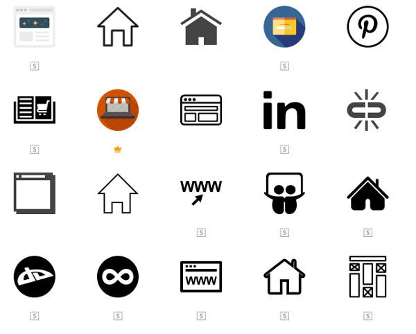 free website icon collection