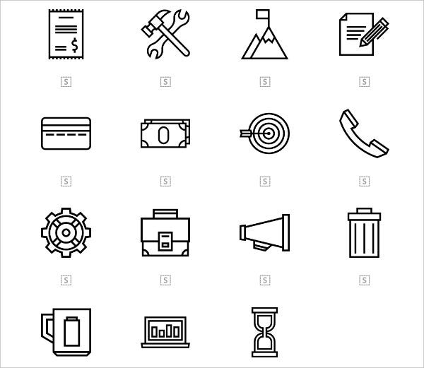 Productivity Icon Collection