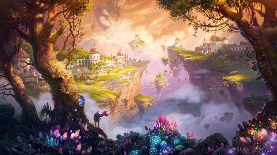 fantasy illustration of kingdomm