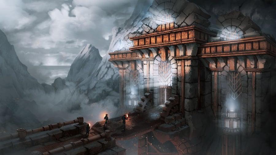 digital art landscape illustration