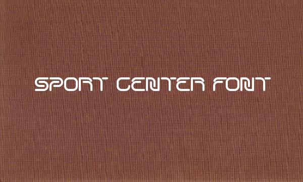 Sports Invitation Use Font
