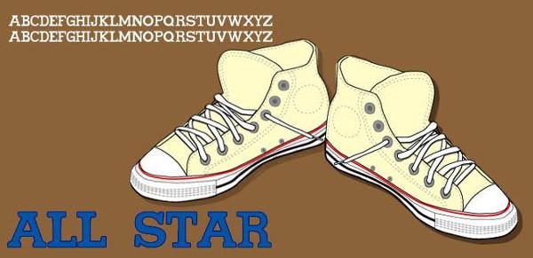 Sports Shoe Font