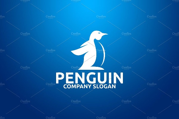 penguin slogan logo