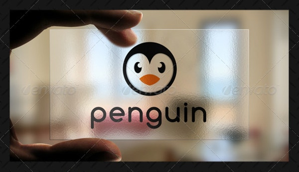 professional design penguin logo