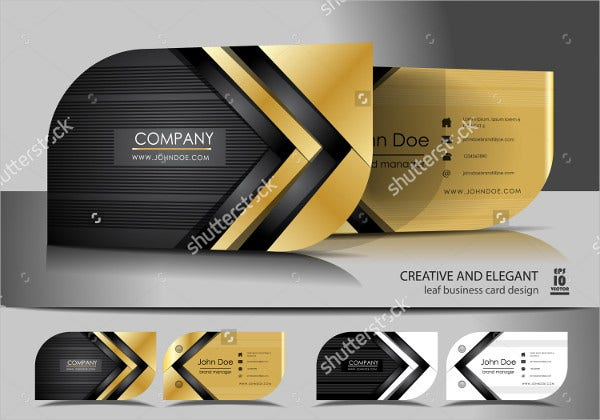 Creative Leaf Business Card