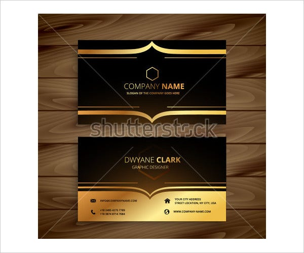 Luxury Business Card Template