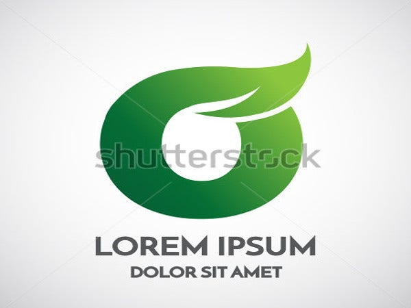 green-eco-letter-o-logo-template