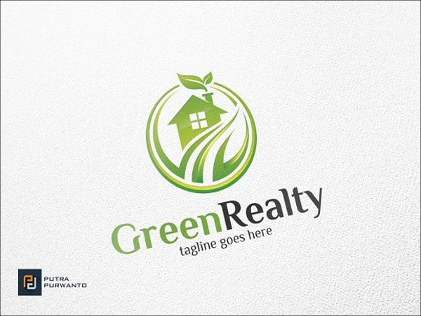 green-realty-house-logo