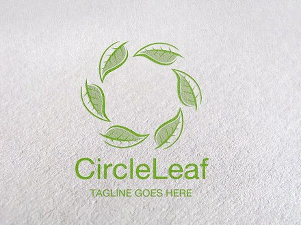circle-leaf-logo-design