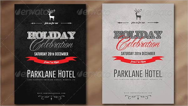 Holiday Celebration Invitation Template