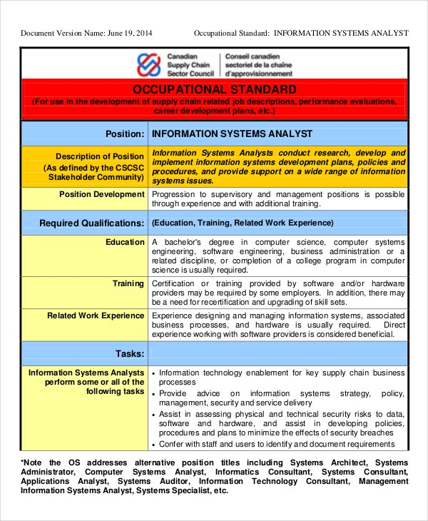 information systems description This system security engineer job description template implementing and monitoring security measures for the protection of computer systems, networks and information.