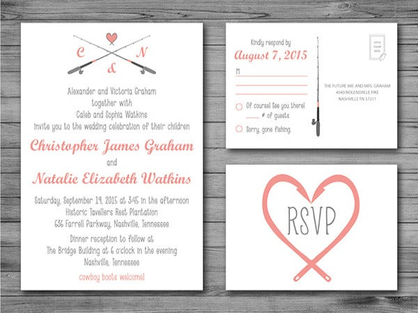 beautiful modern wedding invitations