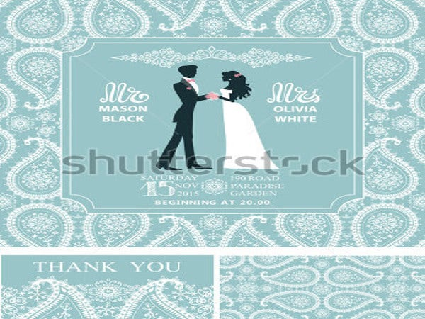 modern wedding invitation sets