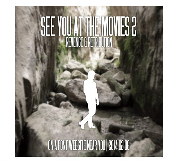 See You At The Movies 2 Font