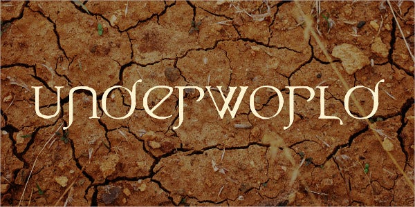 UnderWorld Font