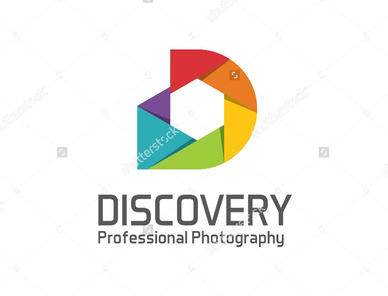 photography logo design vector template