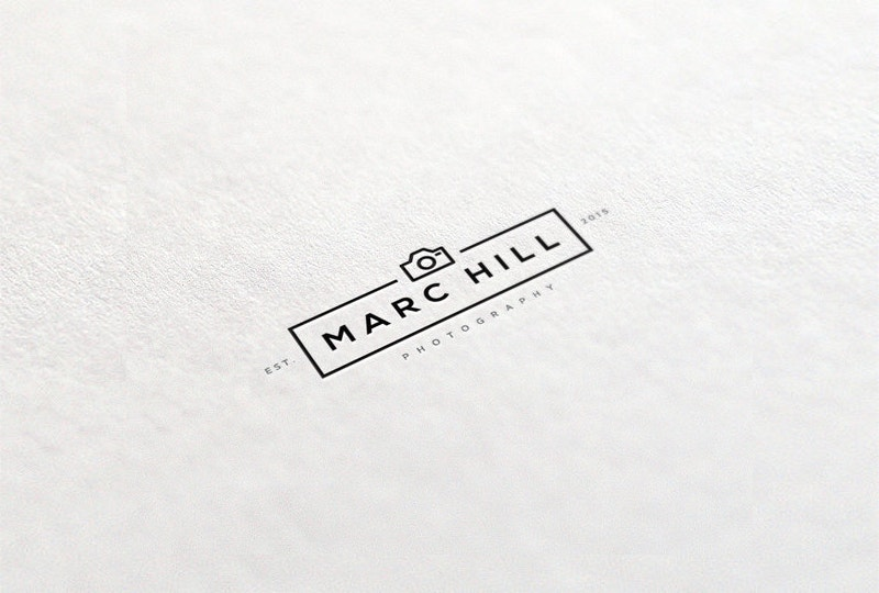 Geometric Photographer Logo