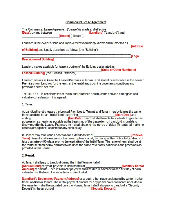 basic-commercial-lease-agreement-template