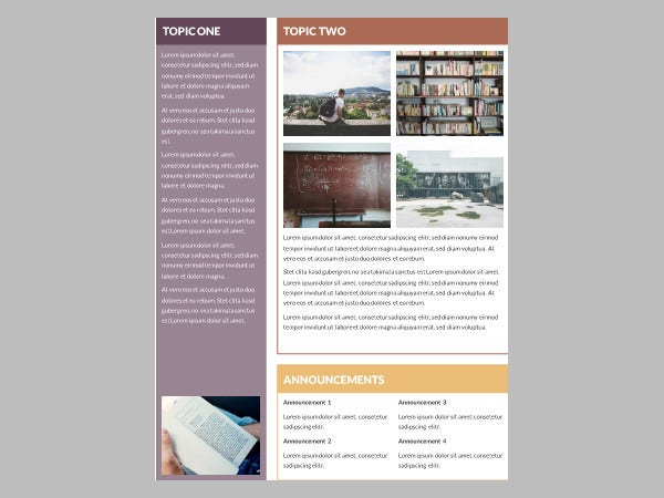 Free Newsletter Templates  Free Psd Ai Vector Eps Format