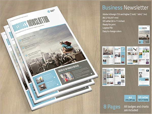 business-newsletter-templates