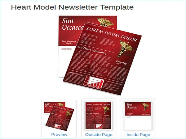 free retail newsletter templates
