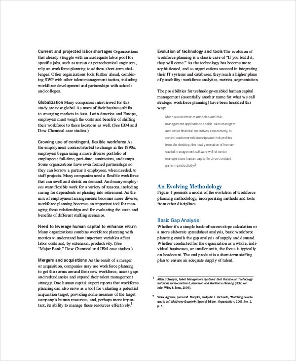 Strategic Planning Template   Free Pdf Word Documents