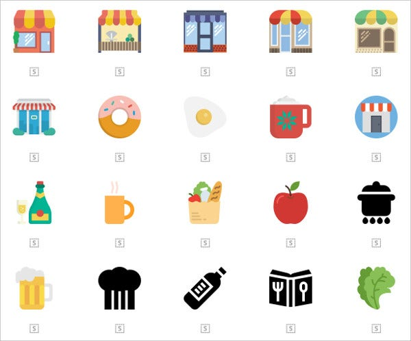 Multiple Food Icon