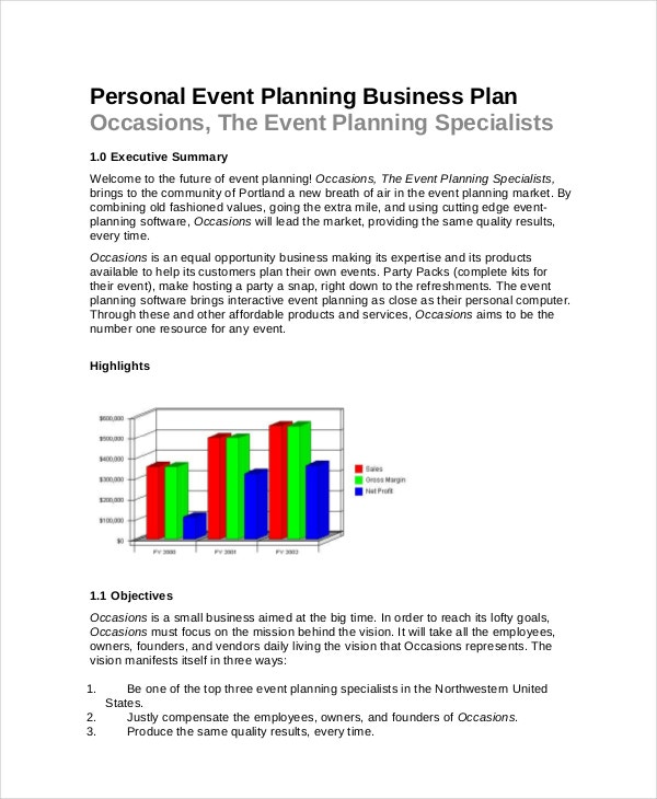 event planning template 11 free word pdf documents download free premium templates. Black Bedroom Furniture Sets. Home Design Ideas