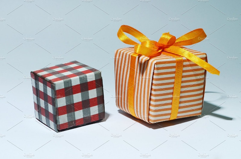 decorative christmas gift package