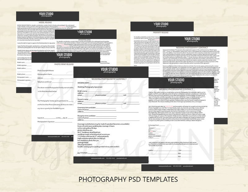 Photography Business Contracts