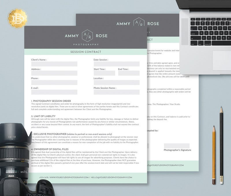 Contract Form Templates  Free  Premium Templates