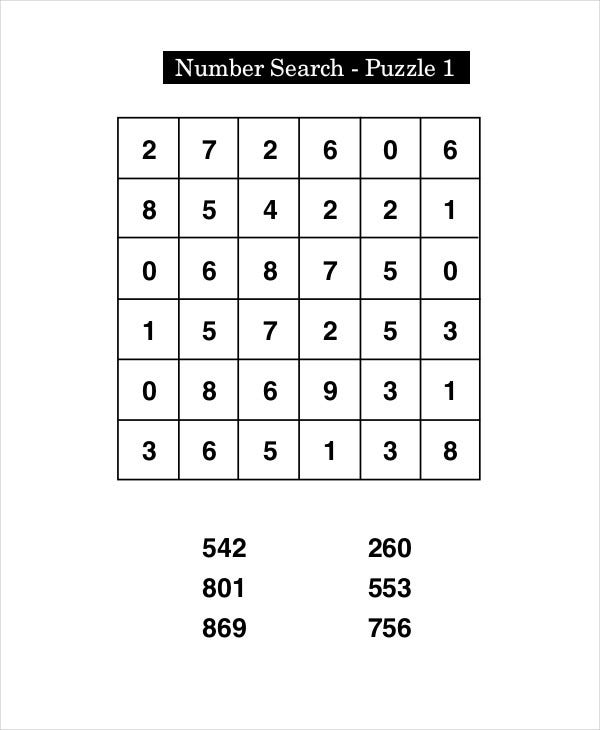 image relating to Hard Printable Crosswords referred to as Absolutely free Printable Crossword Puzzle - 14+ Free of charge PDF Files