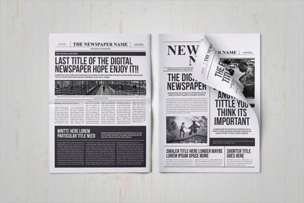 Classy Newspaper Template