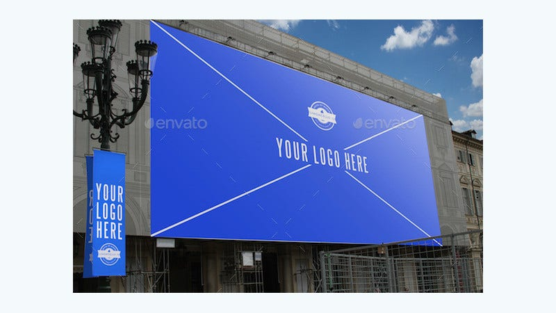Photorealistic Billboard Banner