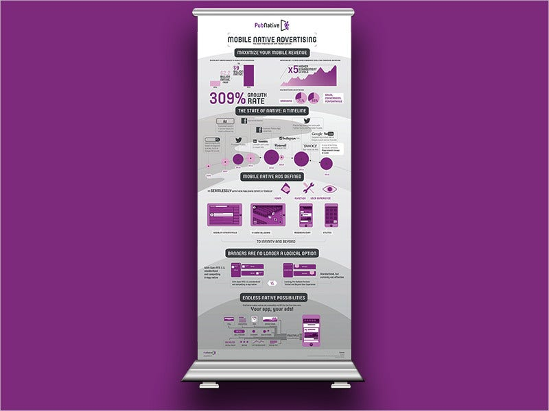 roll up advertising banner