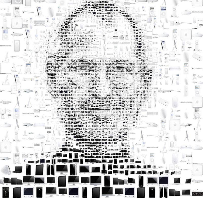 mosaic art of steve jobs2