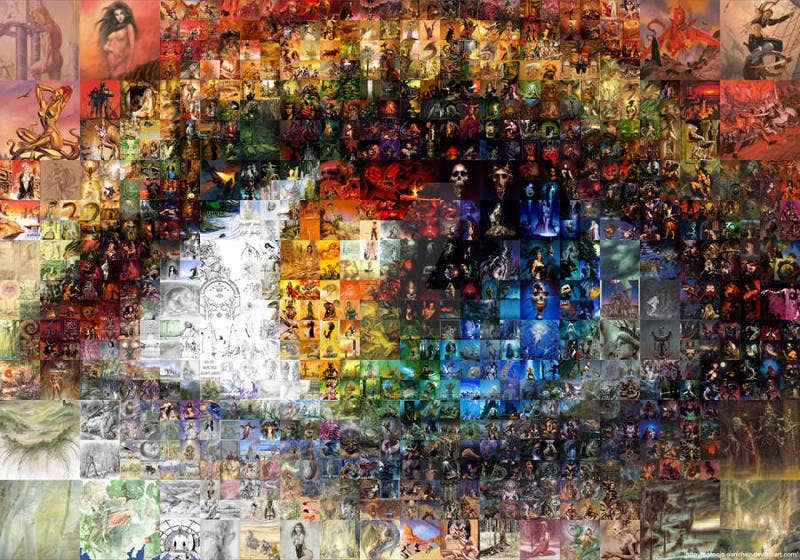 fantastic art eye mosaic2