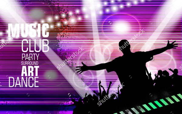 Vector Concert Poster