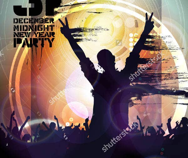Music Party Illustration Poster