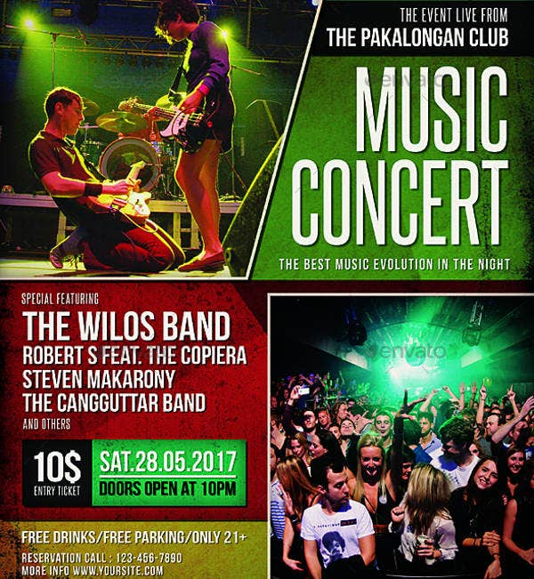 music concert poster