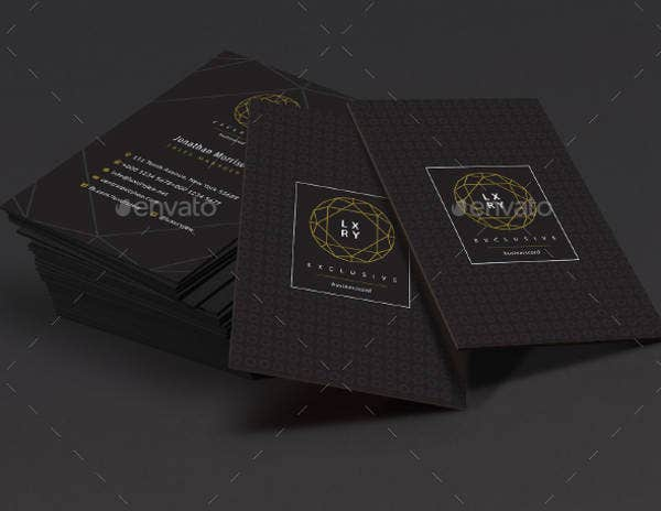 Exclusive Luxury Business Card