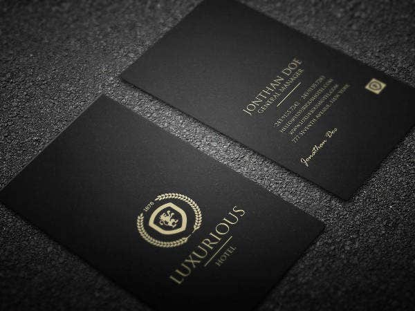 21 Beautiful Luxury Business Cards