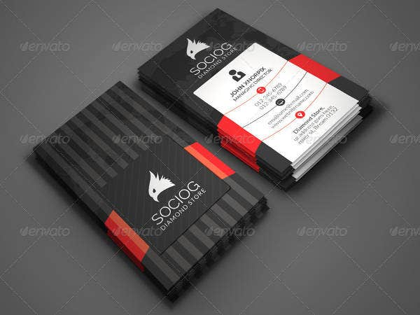 26 beautiful luxury business card free premium templates modern business card accmission Image collections